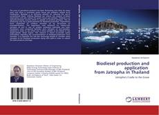 Bookcover of Biodiesel production and application from Jatropha in Thailand