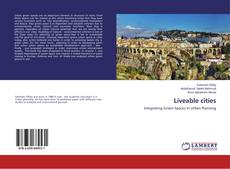 Liveable cities kitap kapağı