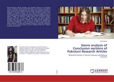 Bookcover of Genre analysis of Conclusion sections of Pakistani Research Articles