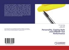 Portada del libro de Personality, Coping Style and STROOP Test Performance