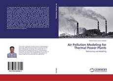 Couverture de Air Pollution Modeling for Thermal Power Plants
