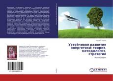 Обложка Устойчивое развитие энергетики: теория, методология, стратегии