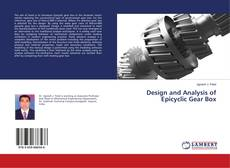 Bookcover of Design and Analysis of Epicyclic Gear Box