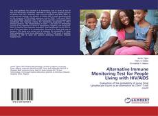Portada del libro de Alternative Immune Monitoring Test for People Living with HIV/AIDS
