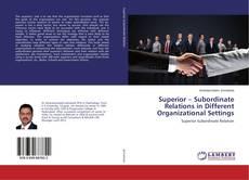 Portada del libro de Superior – Subordinate Relations in Different Organizational Settings