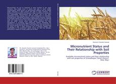Bookcover of Micronutrient Status and Their Relationship with Soil Properties