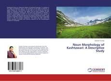 Bookcover of Noun Morphology of Kashtawari: A Descriptive Study