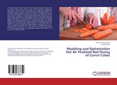 Bookcover of Modeling and Optimization Hot Air Fluidized Bed Drying of Carrot Cubes