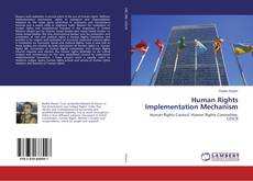 Capa do livro de Human Rights Implementation Mechanism