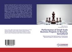 Copertina di Performance of Small Scale Business Projects in Borama, Somaliland