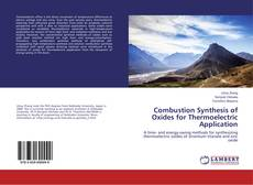 Bookcover of Combustion Synthesis of Oxides for Thermoelectric Application