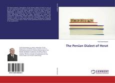 Bookcover of The Persian Dialect of Herat