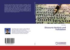 Обложка Discourse Analysis and Translation