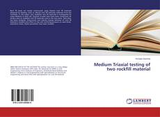 Bookcover of Medium Triaxial testing of two rockfill material