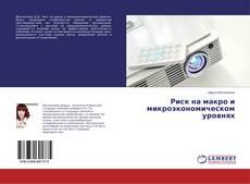 Buchcover von Риск на макро и микроэкономическом уровнях