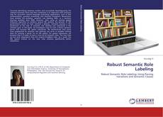 Couverture de Robust Semantic Role Labeling