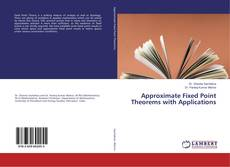 Buchcover von Approximate Fixed Point Theorems with Applications