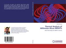Couverture de Thermal Analysis of Millimeter-Wave IMPATTs
