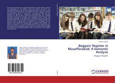 Bookcover of Beggars' Register in Muzaffarabad: A Semantic Analysis