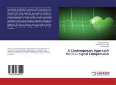 Capa do livro de A Contemporary Approach for ECG Signal Compression