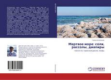Bookcover of Мертвое море: соли, рассолы, диапиры