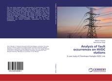 Capa do livro de Analysis of fault occurrences on HVDC stations