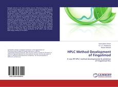 Buchcover von HPLC Method Development of Fingolimod