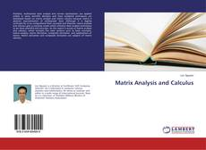 Portada del libro de Matrix Analysis and Calculus