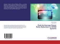 Bookcover of Peak-to-Average Power Ratio Reduction in OFDM Systems