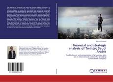 Financial and strategic analysis of Twintec Saudi Arabia kitap kapağı