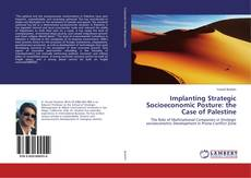 Bookcover of Implanting Strategic Socioeconomic Posture: the Case of Palestine