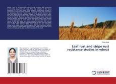 Bookcover of Leaf rust and stripe rust resistance studies in wheat