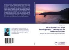Buchcover von Effectiveness of Area Development Committees in Decentralization