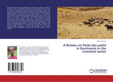 Bookcover of A Review on Peste des petits in Ruminants in the Livestock sector