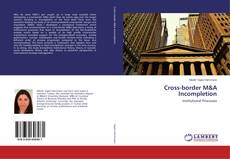 Bookcover of Cross-border M&A Incompletion