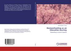 Bookcover of Homeschooling as an Educative Journey