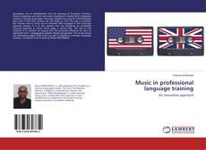 Couverture de Music in professional language training