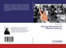 Bookcover of Sharing Information for Effective Teaching