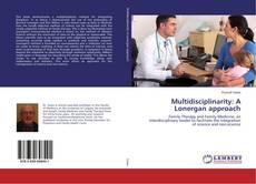 Capa do livro de Multidisciplinarity: A Lonergan approach