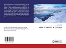 Buchcover von Dental erosion in children