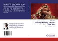Bookcover of Live in Relationship & Hindu Marriage