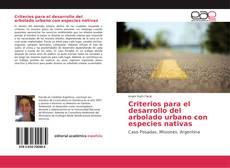 Borítókép a  Criterios para el desarrollo del arbolado urbano con especies nativas - hoz