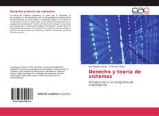Portada del libro de Derecho y teoría de sistemas