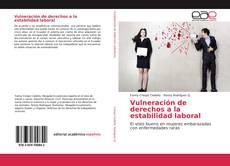 Portada del libro de Vulneración de derechos a la estabilidad laboral