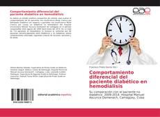 Buchcover von Comportamiento diferencial del paciente diabético en hemodiálisis