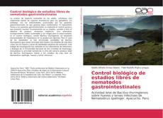 Portada del libro de Control biológico de estadios libres de nematodos gastrointestinales