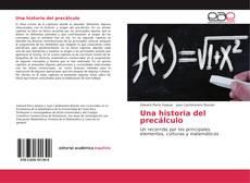 Bookcover of Una historia del precálculo