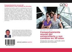 Bookcover of Comportamiento sexual del universitario y sus cambios en 30 años