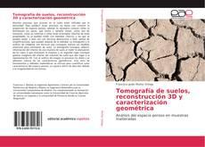 Bookcover of Tomografía de suelos, reconstrucción 3D y caracterización geométrica