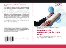 Capa do livro de La educación ambiental en la zona rural
